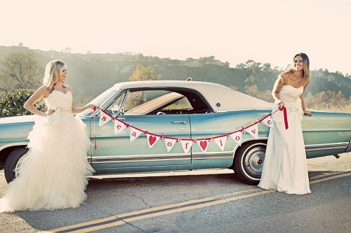 1967 Ford LTD in Exquisite Weddings Magazine 6/12