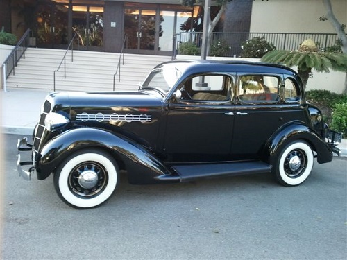 1935 Plymouth 4 Door