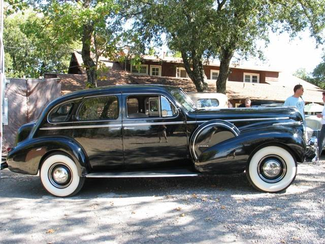 1940 Buick Limited 4 Door
