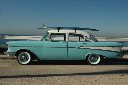 San diego antique car chauffeur company wedding classic for 1957 chevrolet 4 door