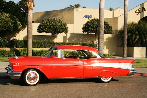1957 Chevy Bel Air Hardtop 2 Door