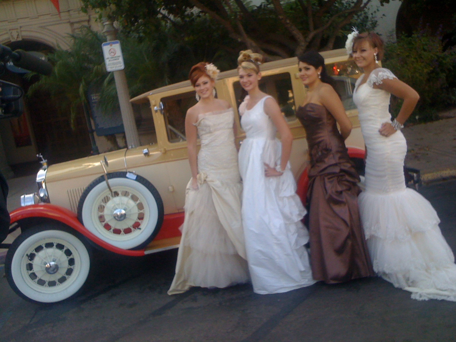 San Diego Antique Car Chauffeur Company Wedding Classic Car ...
